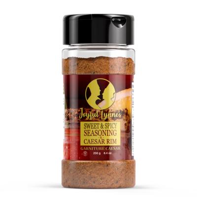 Joyful Lynne's - Sweet & Spicy Caesar Rim/Seasoning  4oz