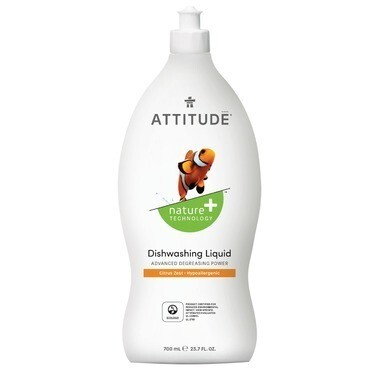 Attitude - Dishwashing Liquid Citrus Zest  700ml