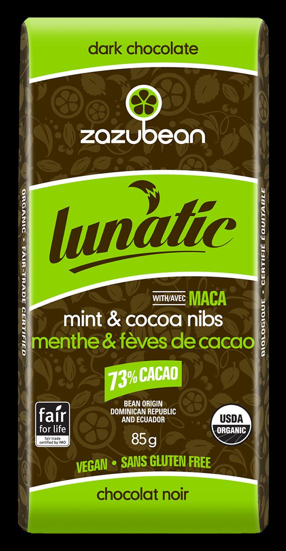 Zazubean - Lunatic Mint & Cocoa Nibs (V)