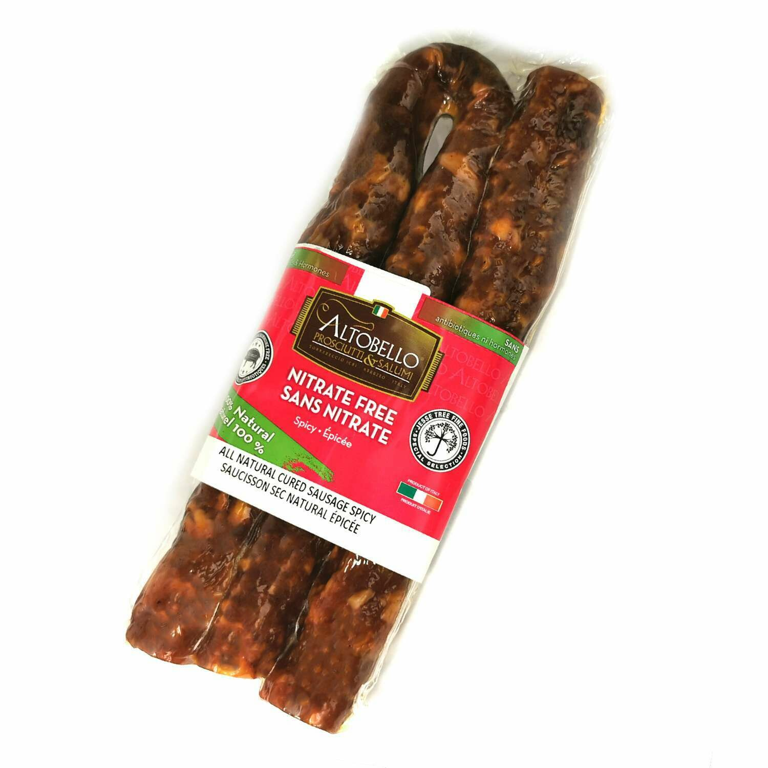 Altobello All Natural Spicy Sausage (280g)