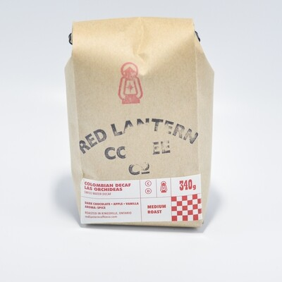 Red Lantern - Colombian  DECAF Las Orchideas