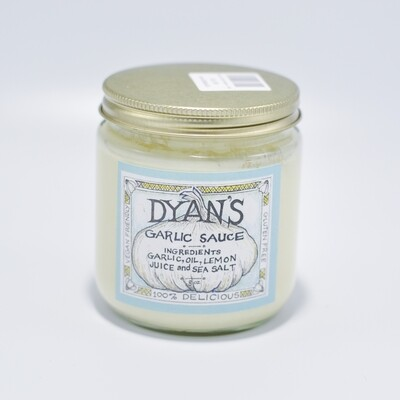 Dyan's Garlic Sauce - 8oz