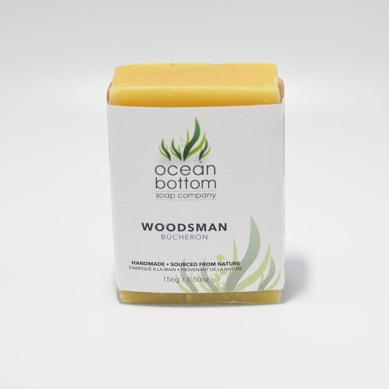 Ocean Bottom - Woodsman Soap