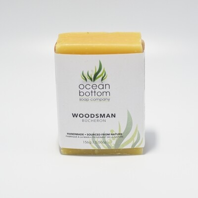 Ocean Bottom - Woodsman Soap