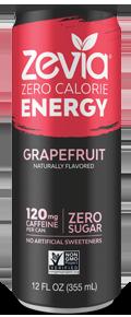 Zevia - Grapefruit Energy Drink