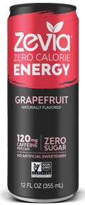 Zevia - Grapefruit Energy Drink
