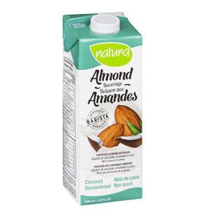 Natura - Coconut Unsweetened Almond Milk