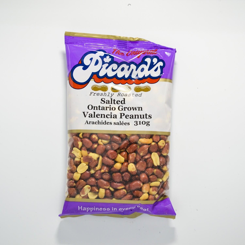 Picard's - No Salt Valencia Peanuts 310g
