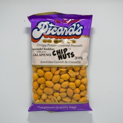 Picard's - Bacon Cheddar Jalapeno Chipnuts 310g