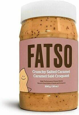 Fatso Crunchy Salted Caramel Peanut Butter