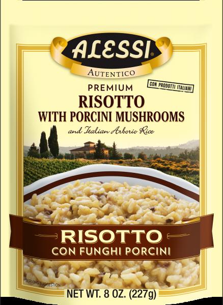 Alessi - Risotto Porcini Mushroom  8oz