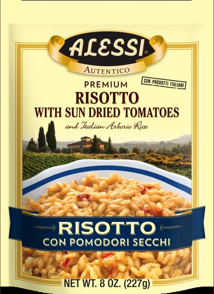 Alessi - Pomodoro Risotto w/Sun Dried Tomatoes  8oz.