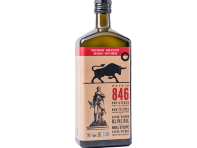 Origin 846 Natural Unfiltered Extra Virgin Olive Oil (846ml)