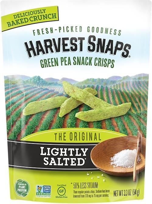 Harvest Snaps - Lightly Salted 93g