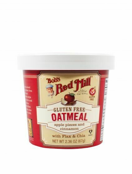 Bob's Red Mill  GF  Apple Cinnamon Oatmeal  67g