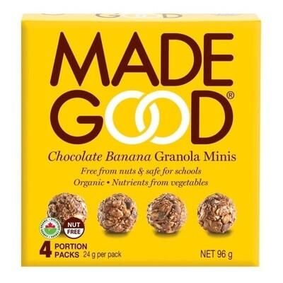 Made Good - Chocolate Banana Granola Mini's (4)