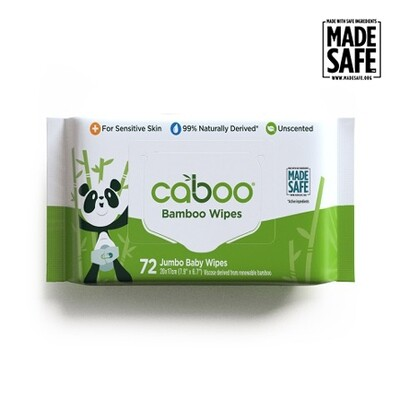 Caboo - Bamboo Wipes (72 jumbo)