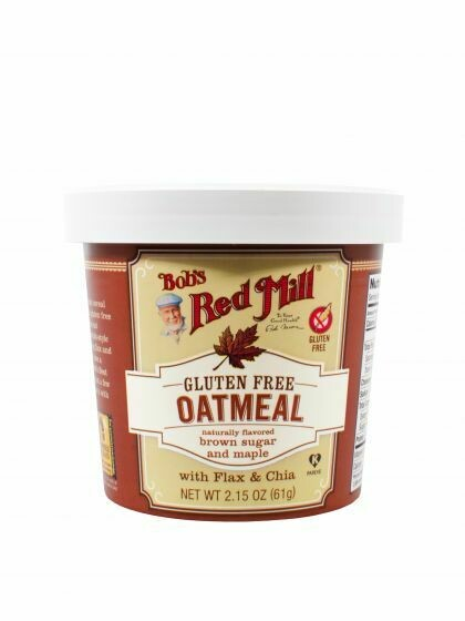 Bob's Red Mil GF Maple Brown Sugar Oatmeal  67g