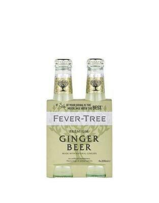 Fever Tree - Ginger Beer 4pk