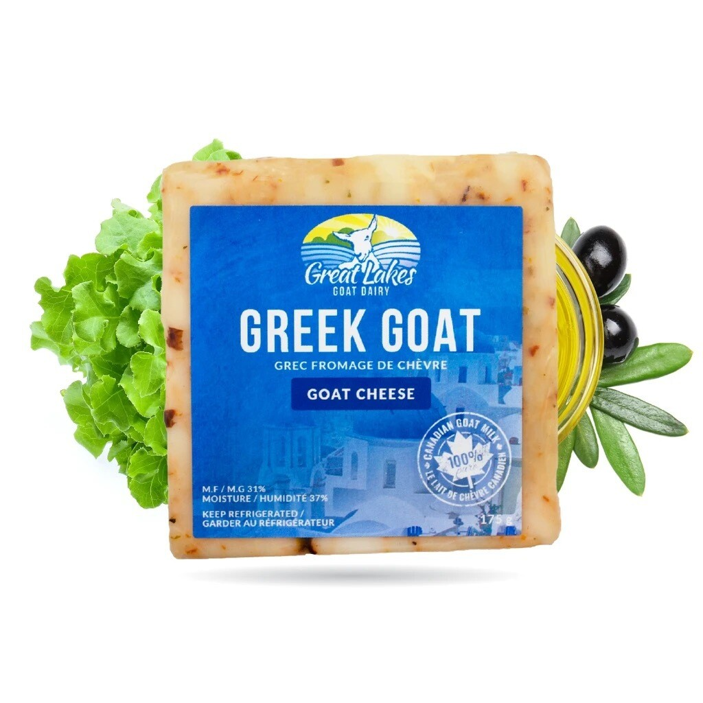 Cheese - Great Lakes  Greek Goat (goat cheese) 175g