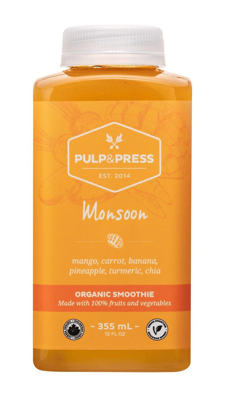 Pulp & Press - Monsoon Smoothie 355ml