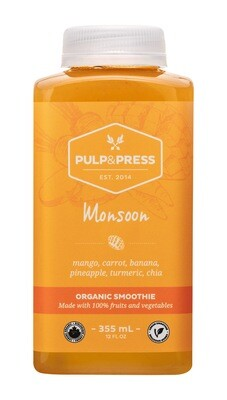 Pulp & Press - Monsoon Smoothie 355ml