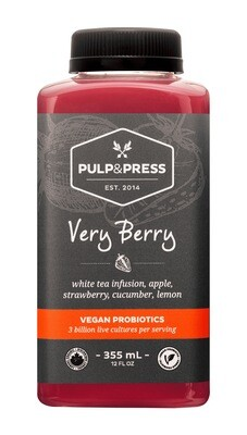 Pulp & Press - Very Berry Probiotics 355ml
