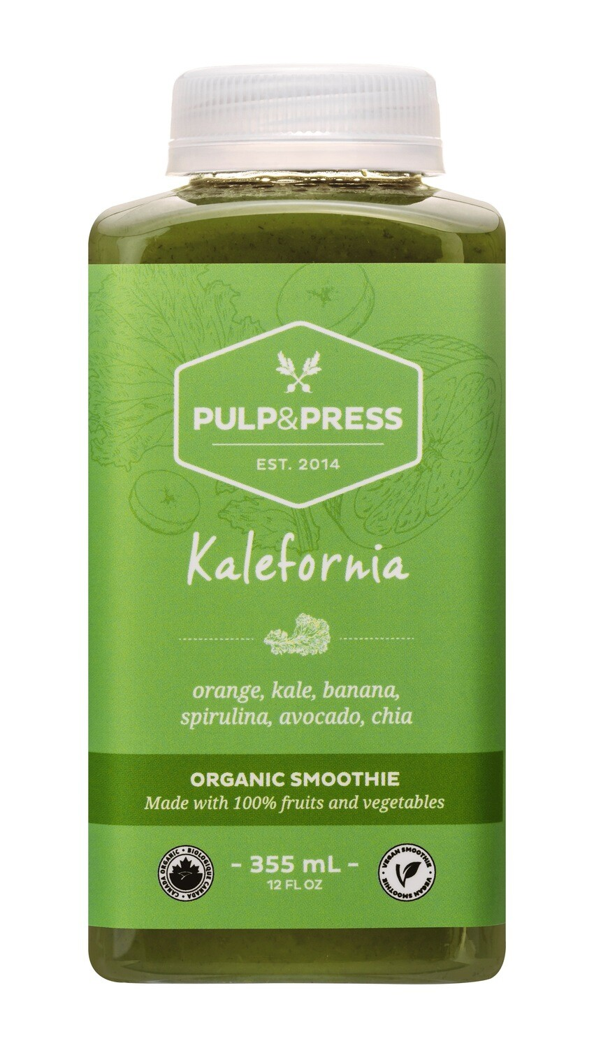 Pulp & Press - Kalefornia Smoothie 355ml