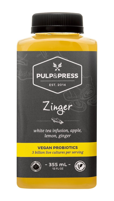 Pulp & Press - Zinger Probiotics 355ml