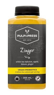 Pulp & Press - Zinger Probiotics 355ml