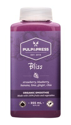Pulp & Press - Bliss Smoothie 355ml