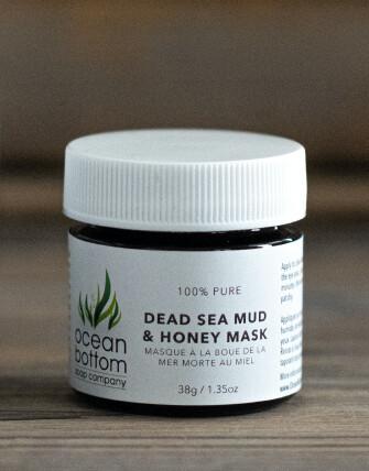 Ocean Bottom - Mini Dead Sea Mud & Honey Mask (38g)