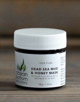 Ocean Bottom - Mini Dead Sea Mud & Honey Mask (38g)