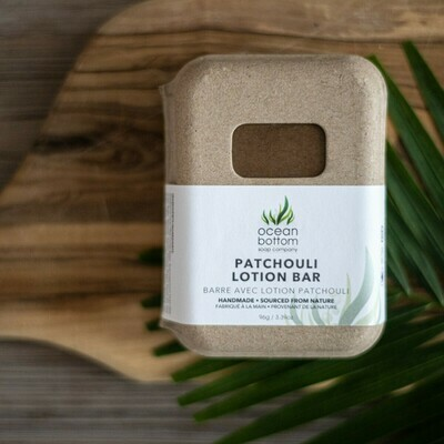Ocean Bottom - Lotion Bar Patchouli