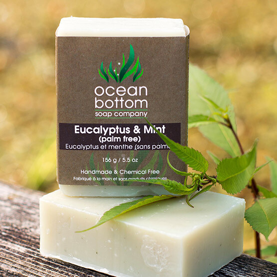 Ocean Bottom - Eucalyptus & Mint Soap