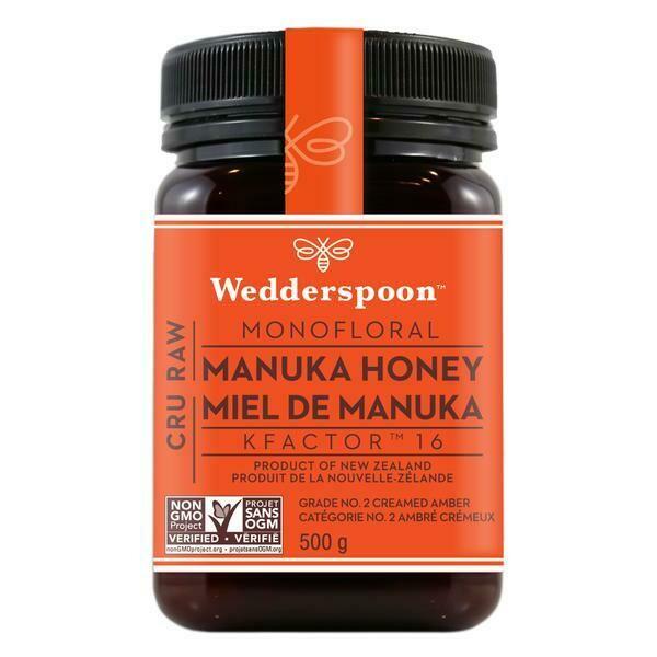 Wedderspoon - Raw Manuka Honey (500g)
