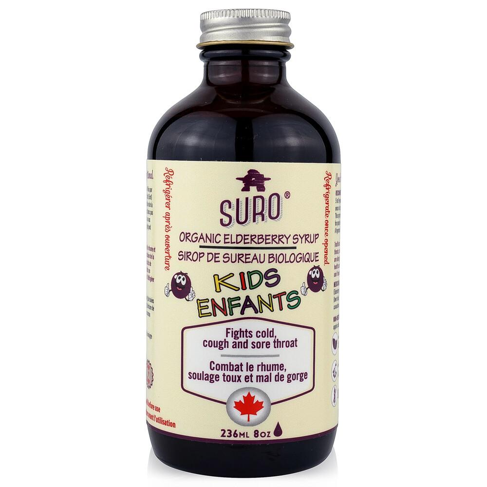 Suro - Organic Elderberry Syrup  -Kids  (8oz)
