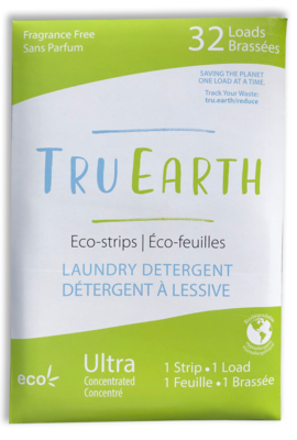 Tru Earth - Fragrance Free Laundry Detergent (32 Loads)