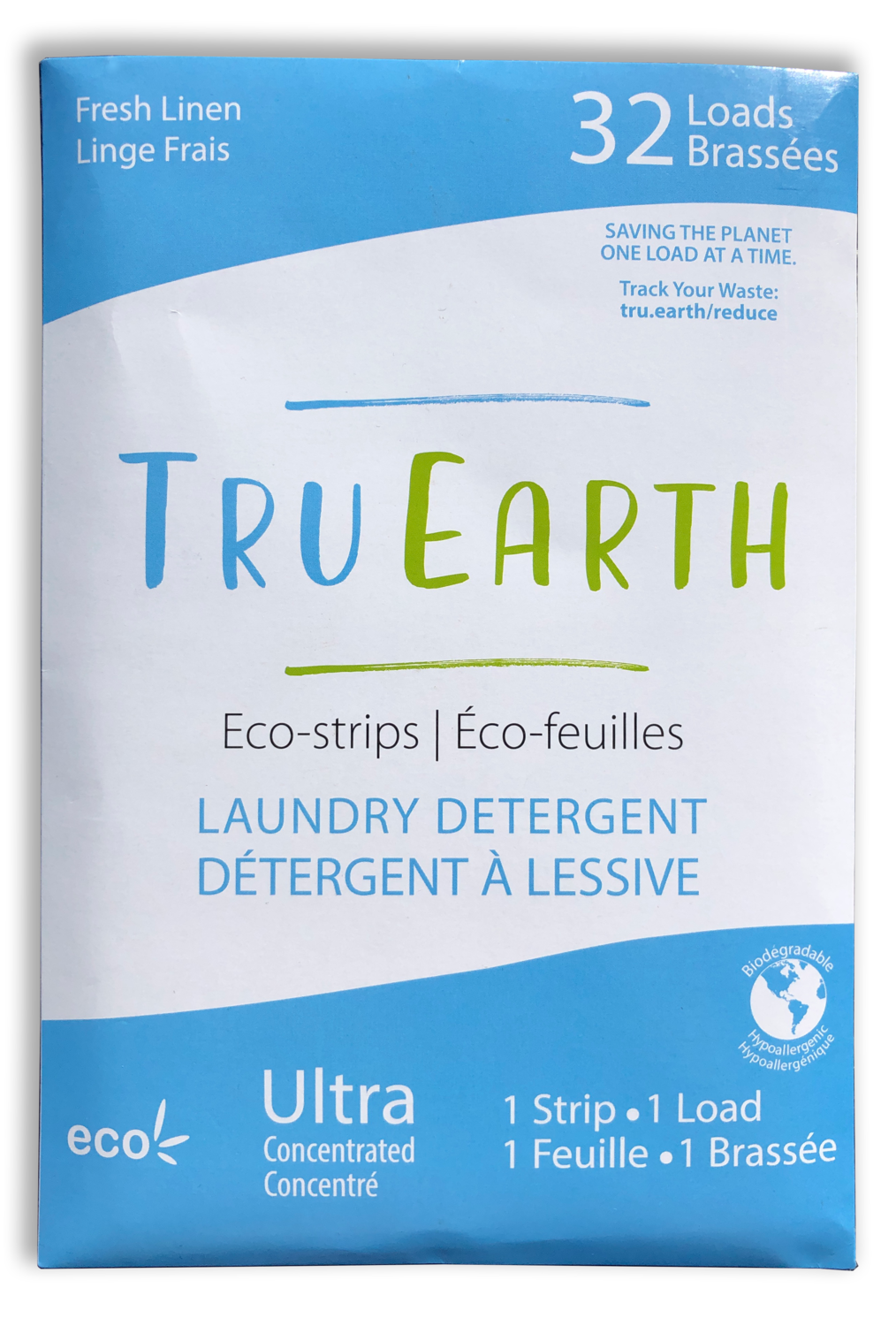 Tru Earth - Fresh Linen Laundry Detergent (32 Loads)