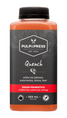 Pulp & Press - Quench 335ml Vegan Probiotics
