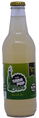 Soda Pop Bros - Ginger Beer  (355ml)