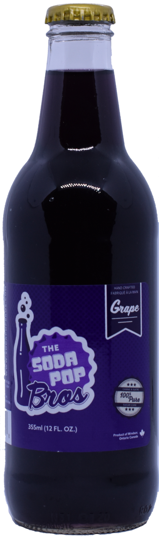 Soda Pop Bros - Grape  (355ml)
