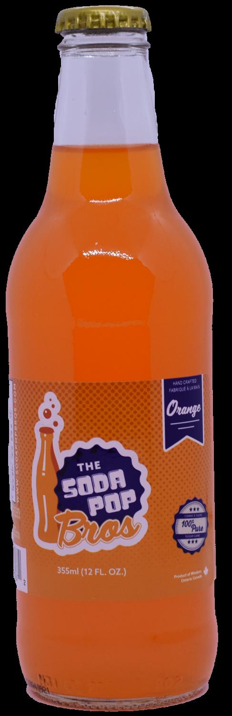Soda Pop Bros - Orange  (355ml)