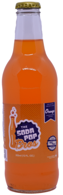 Soda Pop Bros - Orange  (355ml)