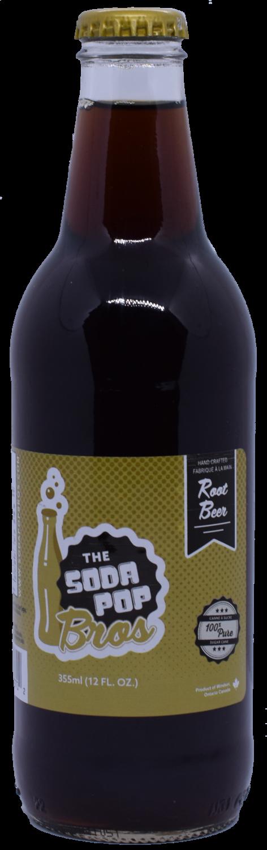 Soda Pop Bros - Root Beer  (355ml)