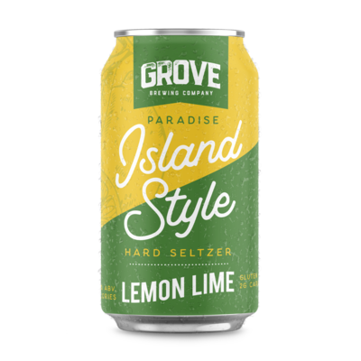 Grove - Lemon Lime  Seltzer 355ml