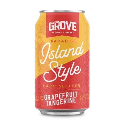 Grove - Grapefruit Seltzer 355ml