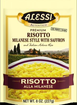 Alessi - Risotto Milanese-Style w/Saffron