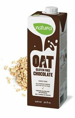 Natura - Fortified GF Oat Milk - Chocolate 946ml