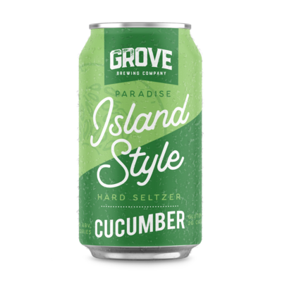 Grove - Cucumber Seltzer 355ml